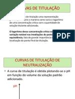 CURVAS DE TITULACAO