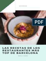 eBook Recetas Restaurantes Bcn- Mantel a Cuadros