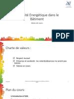 Efficacité Energétique Dans Le Bâtiment_présentation