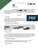 Dictamen de Documentación del Lugar de Intervención.- Cruz Pérez Rafael David