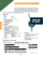 SPG-Digi-W Wireless Pressure Gauge