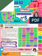 ACTIVIDAD 3 - EXP 5 - ELABORACIÓN DE TABLAS DE FRECUENCIAS-PARTE 2