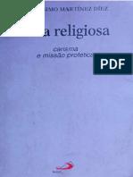 Vida Religiosa, Carisma e Missão Profética