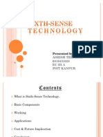 Sixth-sense Technology