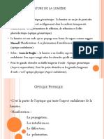 Optique Physique 2021 Presentation