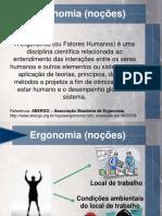Engenharia de Metodos-AULA 07 Ergonomia v1