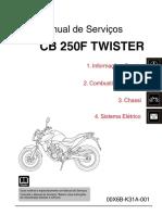 MS CB250F TWISTER (2016) 00X6B-K31A-001