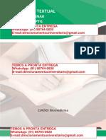 Câncer Patogênese e Fatores Associados – Biomedicina Semestre 4º REG e 3º FLEX