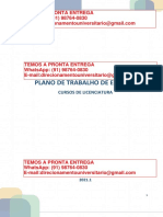 Estágio Cursos de Licenciaturas i II e III