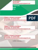 A Atuação Da Gestão Escolar Na Promoção Da Aprendizagem Dos Estudantes - Educação Física Licenciatura Semestre 7º Flex e 8º Regular
