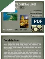 Pyrometalurgi Pembuatan Besi
