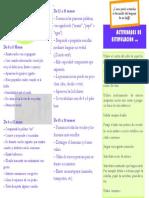 Documento Informativo y de Estimulación