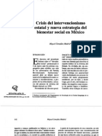 Bienestar social y crisis del Estado mexicano - Autor