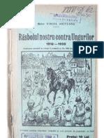 Vergil Arifeanu - Răsboiul nostru contra ungurilor (1918-1920)