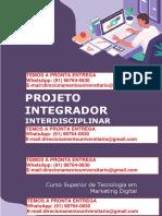 Projeto Integrador Interdisciplinar Café e Sintonia – Marketing Digital Semestre 3º Reg e 4º Flex