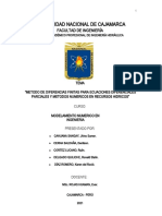 Metodo de diferencias Finitas (1)