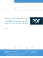 World Shale Gas Resources-EIA