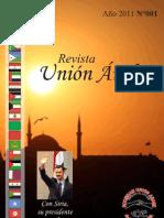 revista Union Árabe-abril 2011