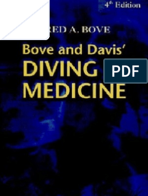 34689757 Bove and Davis Diving Medicine 4th Ed | Underwater Diving