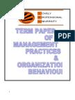 Developing leadership in an organization