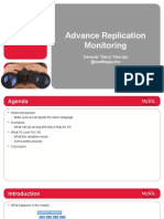 Advanced Replication Monitoring Presentation