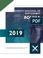 Reglamento Nacional de Softcombat 2019