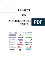 Airline-Reservation-System Project