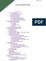 Guía de aprendizaje de Python