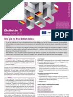 E-Bridge 2 Mobility Bulletin 7