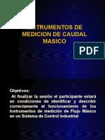 Instrumentos de Medición de Caudal Másico