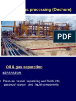 Liquid and gas separation
