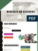 Sais Minerais Em Bovinos
