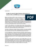 Comunicado2010FINANCIERO