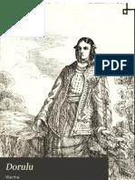 ### - Dorul. Culegere de Canturi Nationale Si Populare [1868]