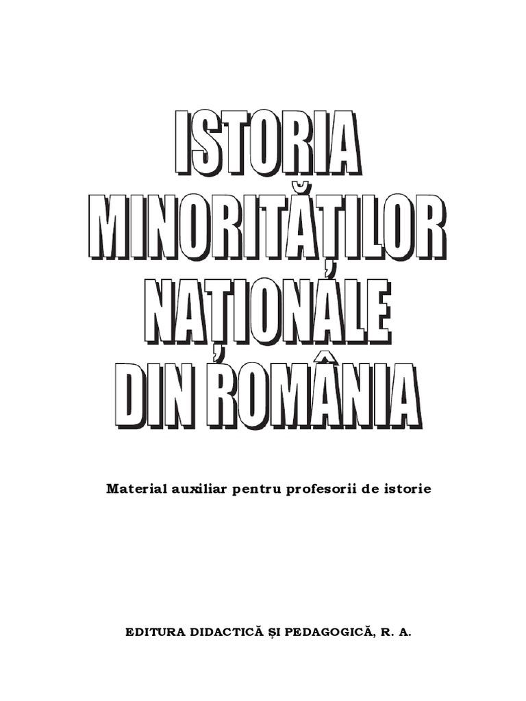 Istoria Minoritatilor Nationale Din Romania [Manual] [2008
