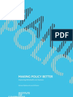 Making Policy Better