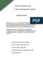 INFORME FINAL BECA 2008-2009