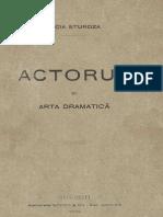 Actorul şi arta dramatică