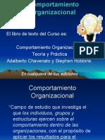 PRESENTACION DE COMPORTAMIENTO ORGANIZACIONAL