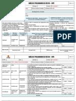 APR - Análise Preliminar de Riscos - Descarregamento de Postes de concreto