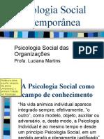 Psicologia Social Contemporânea