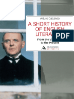 A SHORT HISTORY OF ENGLISH LITE - Arturo Cattaneo
