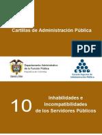Inhabilidades para ejercer cargos públicos en Colombia