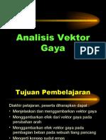 Analisis Vektor Gaya