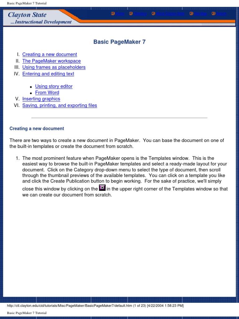 Fantastic pagemaker templates images entry level resume basic pagemaker portable document format computer file baditri Gallery