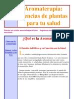 Fitoterapia - Aromaterapia Y Plantas Medicinales - Interactivo