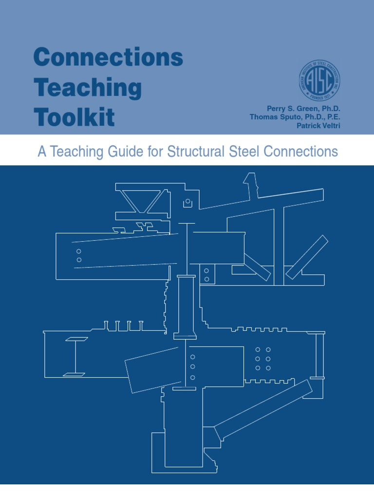 A teaching guide for structural steel connections welding screw nvjuhfo Images