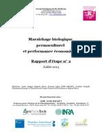 Etude Maraîchage Permaculturel - Rapport Intermédiaire 2013