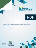 Básico de Elaboração de Termo de Referencia -  CEFOSPE
