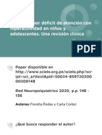 Trastorno por déficit de atención con hiperactividad en niños y adolescentes. Una revisión clínica